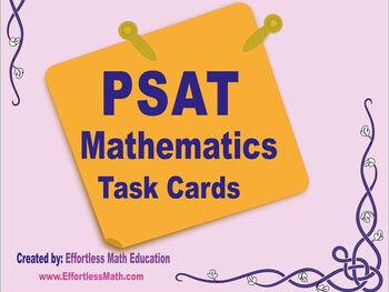 PSAT/NMSQT Mathematics Task Cards: A Full-Length PSAT Math Practice Test