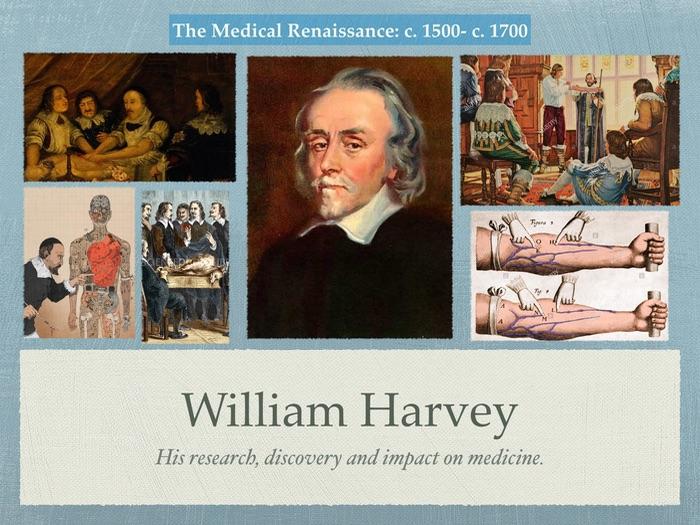GCSe History of Medicine. Renaissance. William Harvey