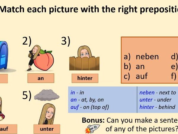 Im Klassenzimmer Deutsch Ideal for Stimmt 1 Two lessons Including games and retrieval practice