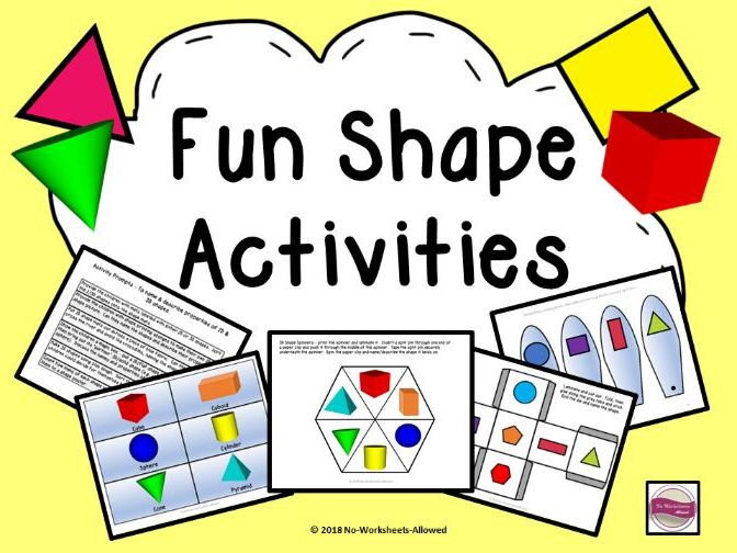 Shape Unit: Activities and Resources