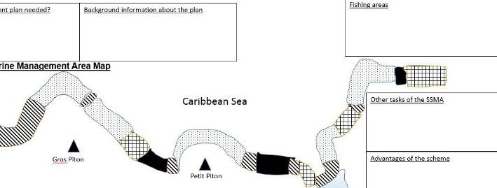 GCSE 9-1; Ecosystems - coral reef management, St Lucia