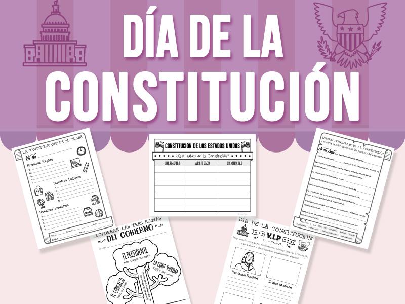 Día de la Constitución - SPANISH VERSION