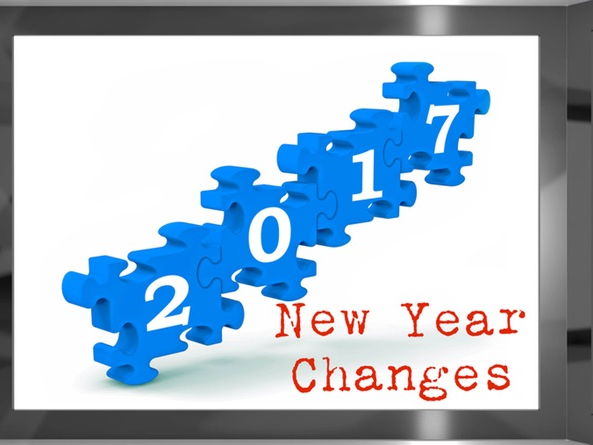 Changes for the New Year