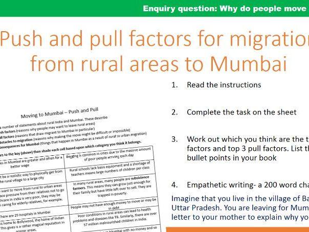 Migration to Mumbai