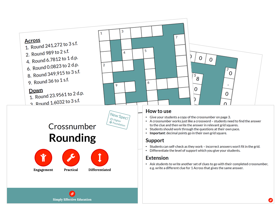 Rounding (Crossnumber)