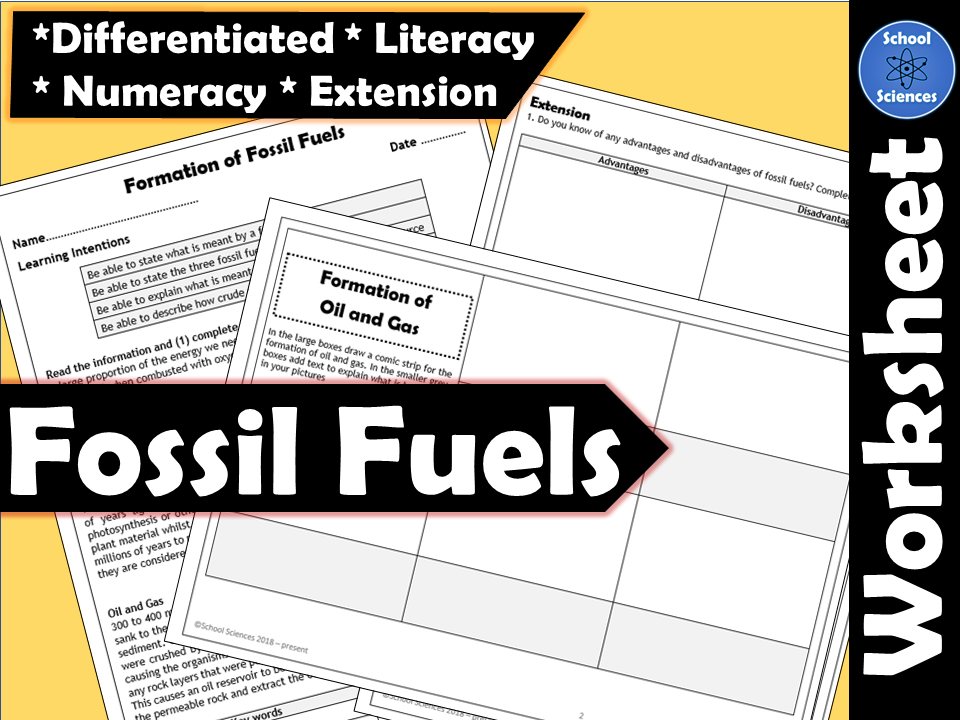 Formation of Fossil Fuels