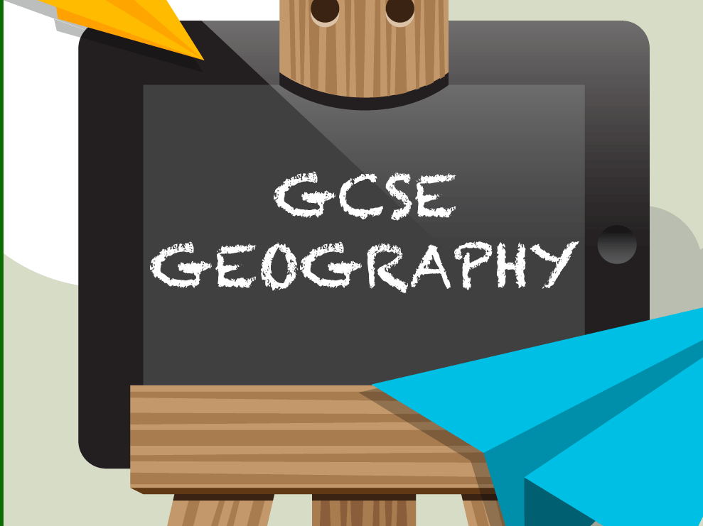 GCSE OCR B Geography worksheet bundle