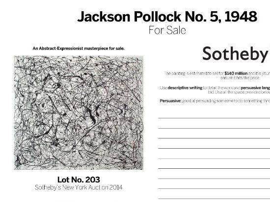Jackson Pollock Annotation