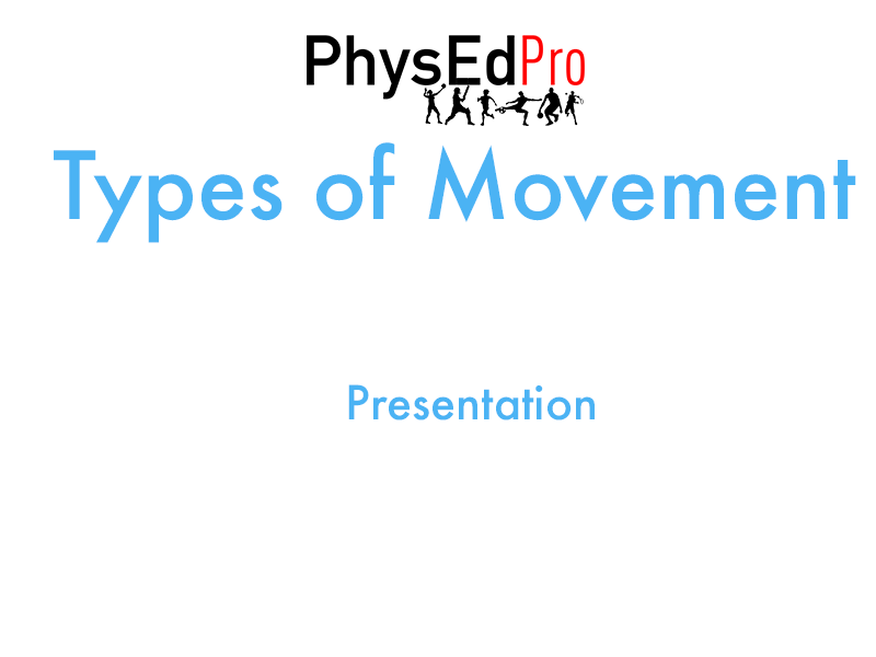 GCSE PE – Movement Analysis – Types of Movement Presentation – Powerpoint – IGCSE