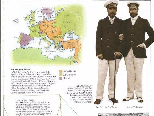 World War One by DK/Collins Comprehension KS2