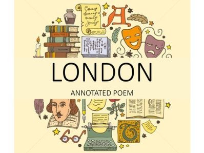 London Annotated Poem - GCSE Power and Conflict