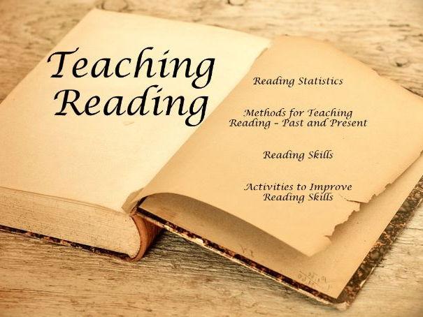 Reading Staff Meeting  ( training, INSET, presentation, reading skills, teaching, activities )