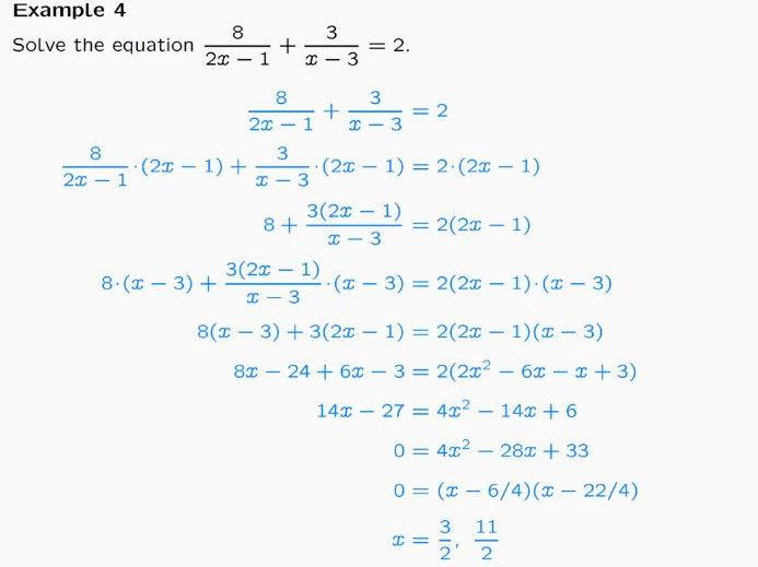 Quadratic Equations by Factorisation Lesson Ppt