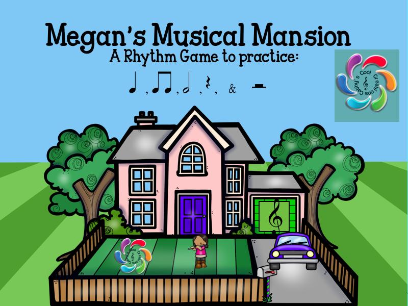 Megan's Musical Mansion- an Interactive Music Game