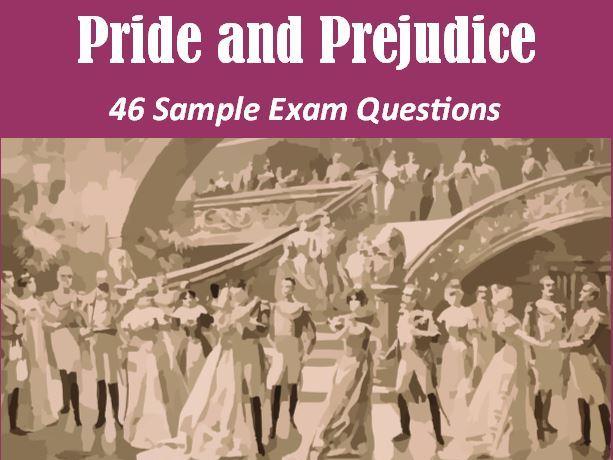 Pride and Prejudice Exam Questions