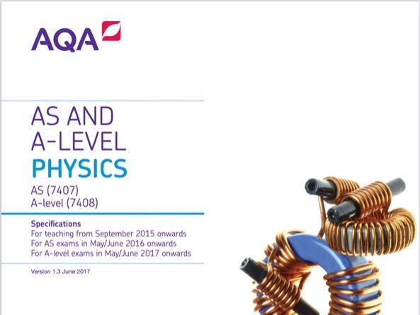 AQA Physics A Level; Turning points Exam Question Practice