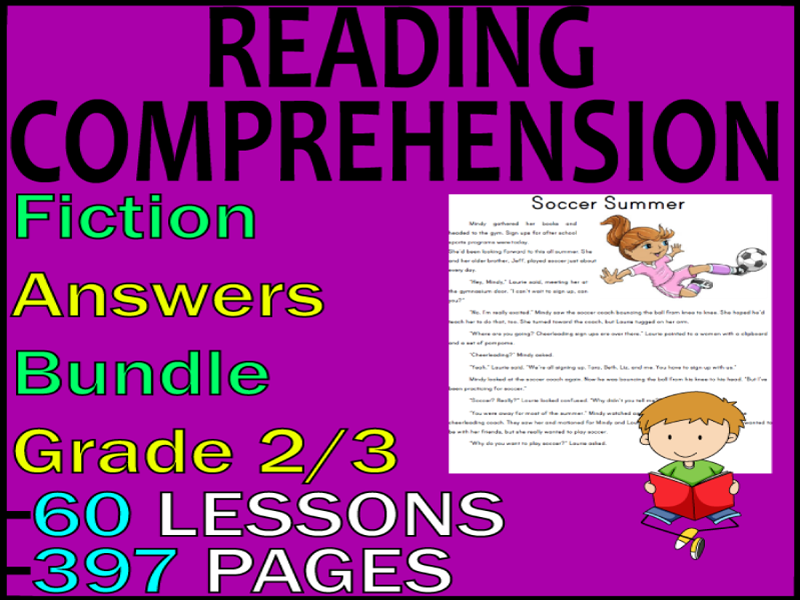 Fiction Reading Comprehension Passages & Questions | Bundle | Grade 2-3