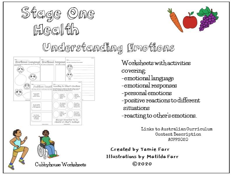 Stage 1 Health: Understanding Emotions