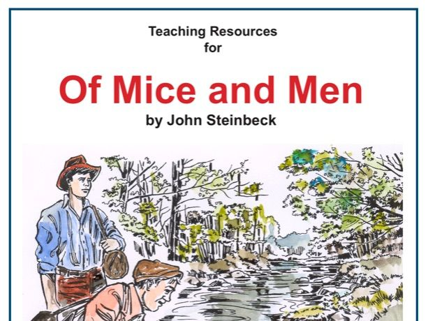 Of Mice and Men Scheme of Work