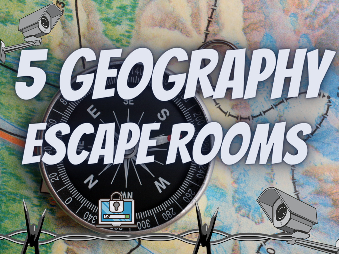 Geography Revision Escape rooms