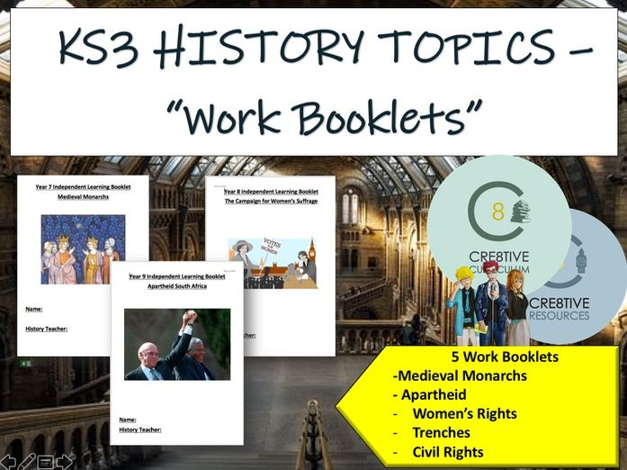 5x Home Learning Packs for History
