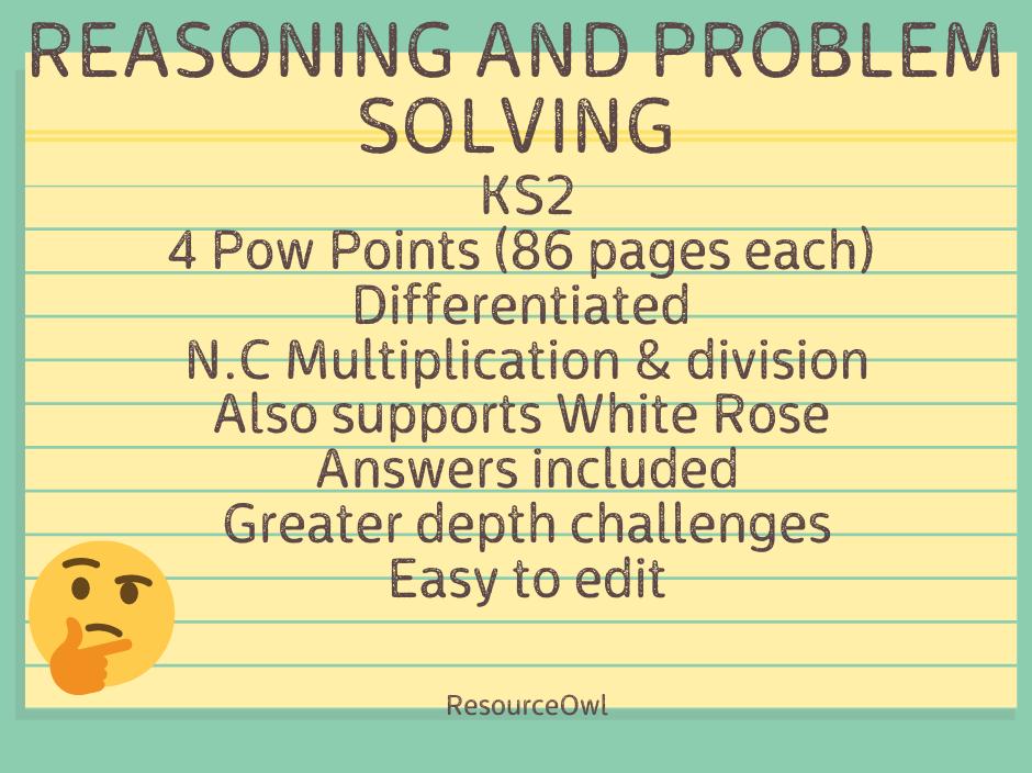 Reasoning KS2