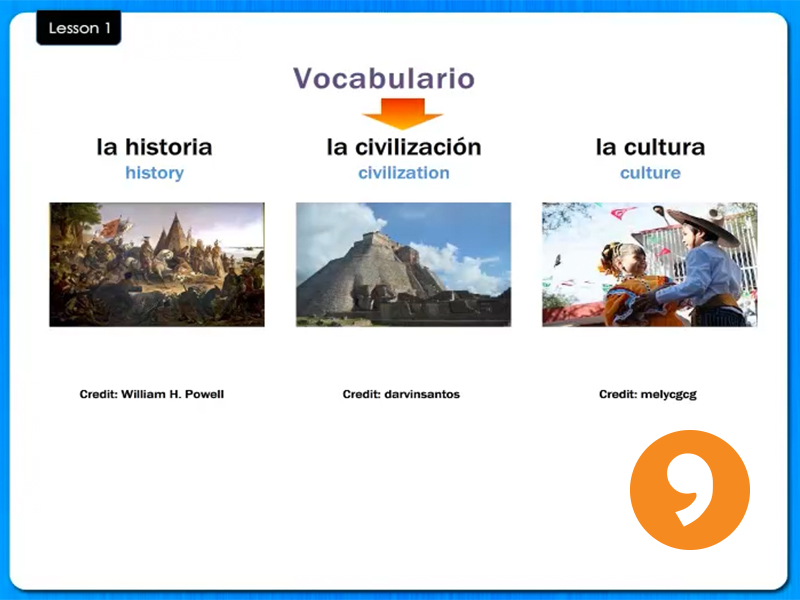 La Historia - History - Video Tutorial