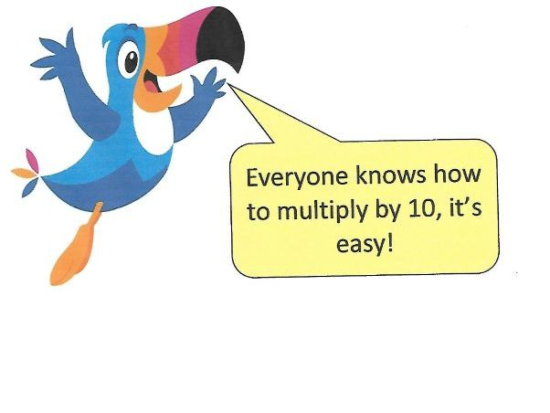Multiplying and Dividing by 10 and 100