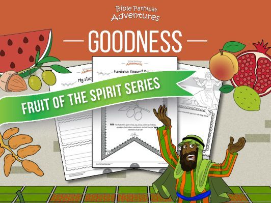 Goodness: Fruit of the Spirit Activity Book & Lesson Plan