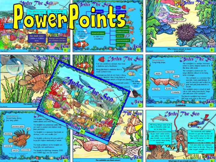 Under The Sea – PowerPoints