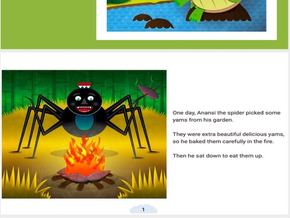 Anansi and Turtle Story