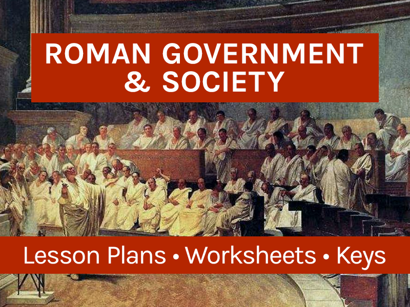 Ancient Roman Government and Society