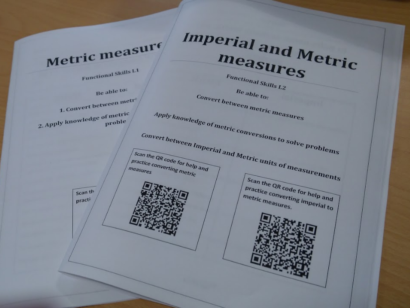 Converting  metric to metric / metric to imperial. 2 work-packs L1 & L2 includes answers + plenary