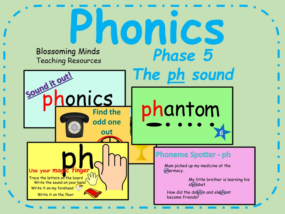 Phonics phase 5 - The 'ph' sound