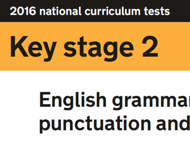 2016 Grammar paper smartnotebook