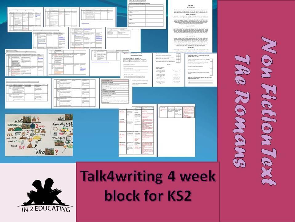 Ks 2 Talk4writing NCR 4 week block The Celts -Roman writing