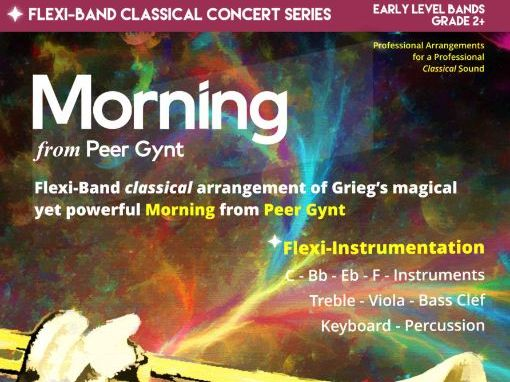 Morning from Peer Gynt (Flexi-Band Score & Parts)