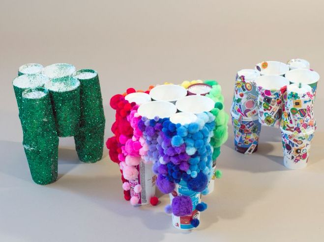 Easy Read: Bubble Gum Cup Stool