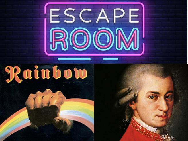 Since you been gone (Rainbow 🌈)  + Eine Kleine Nachtmusik (Mozart) - Escape room GCSE Music Eduqas Revision activity
