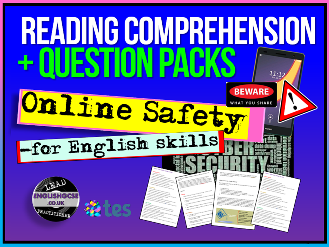 Online Safety + Culture Reading Comprehensions