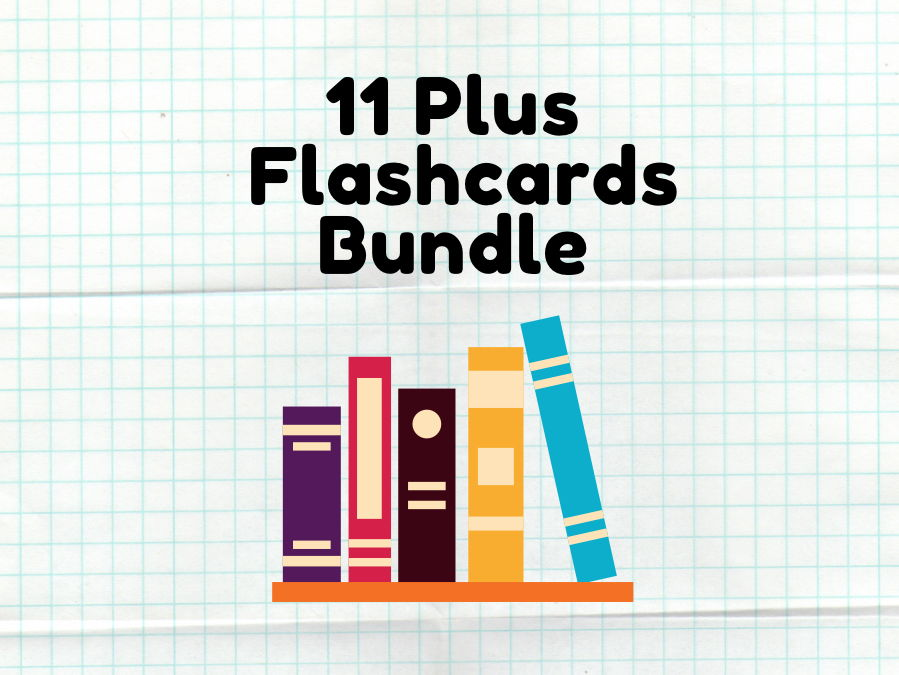 11 Plus Vocabulary Flashcards