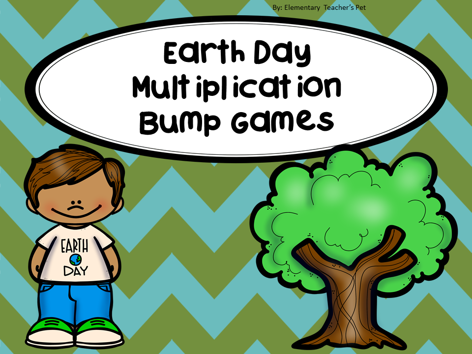 Earth Day Multiplication Bump Games