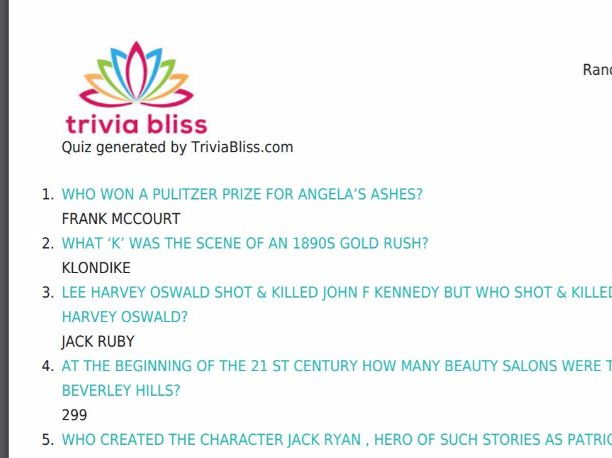 US History Trivia Quiz (25 Questions) by triviabliss