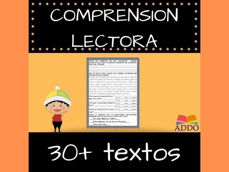 COMPRENSIÓN LECTORA - BUNDLE (30+) Textos en Español | reading comprehension