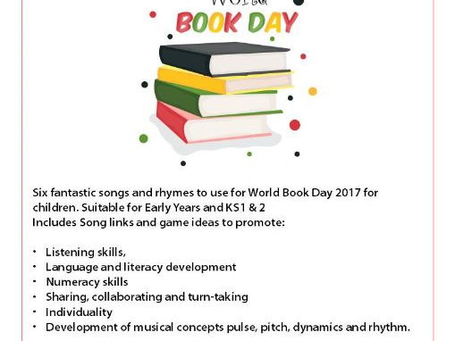 World Book Day 2017 Songs and Rhymes