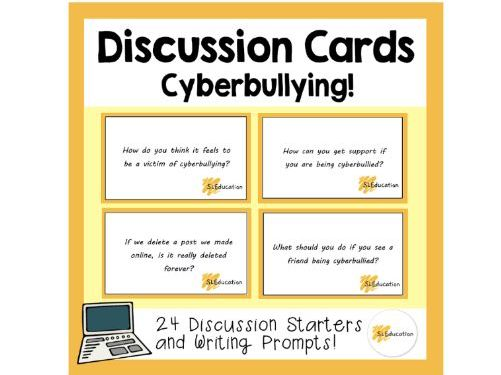 Discussion Cards: Cyberbullying
