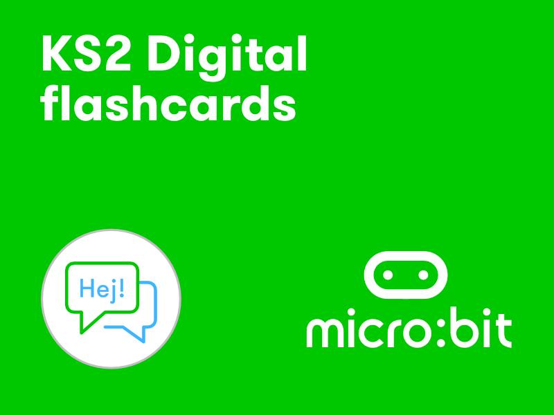 KS2 micro:bit digital flashcards