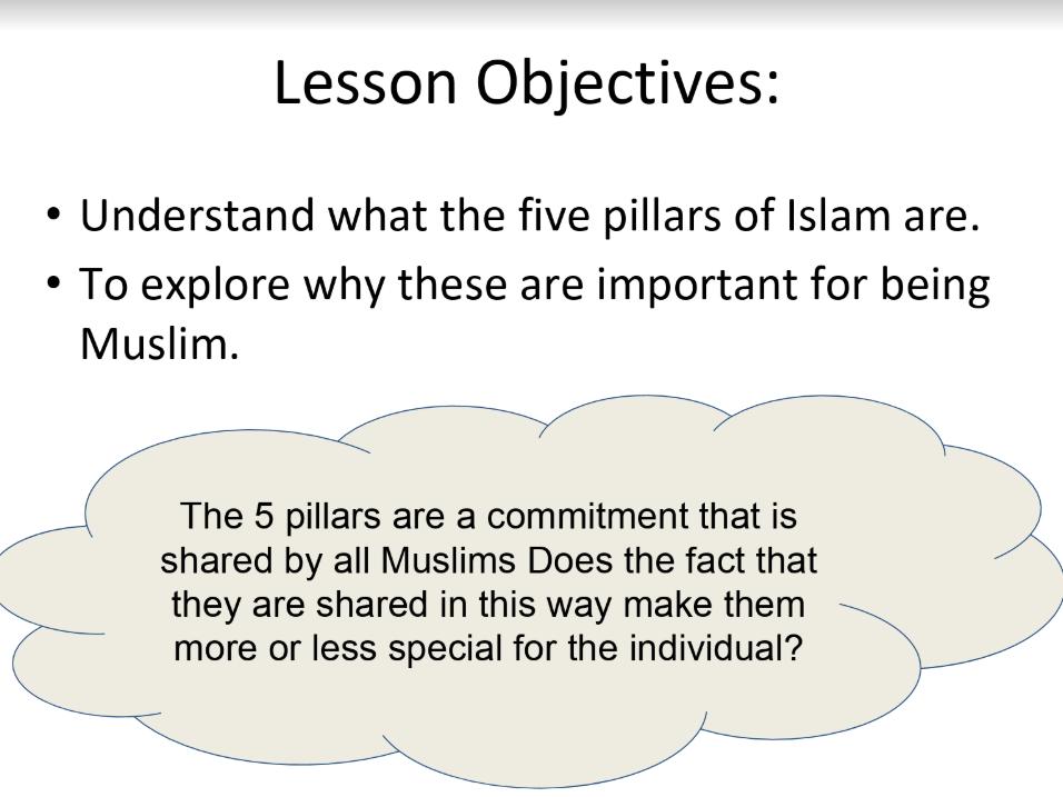 the 5 pillars in Islam