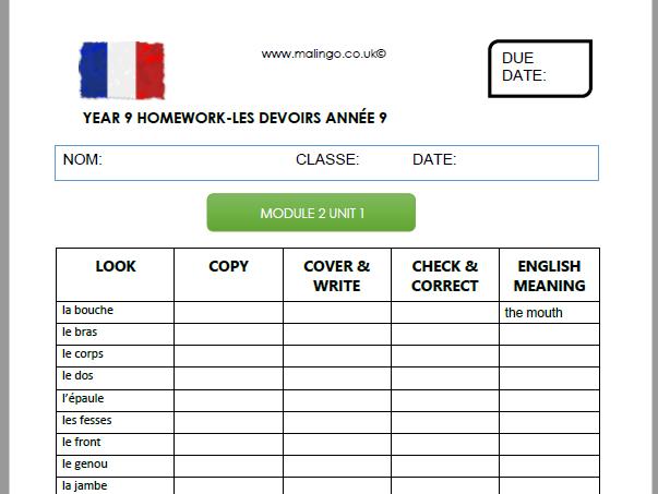 Studio 3 vert module 2 homework booklet