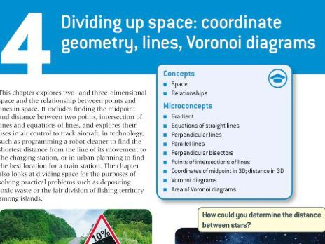 IB Maths AI: Voronoi Diagrams